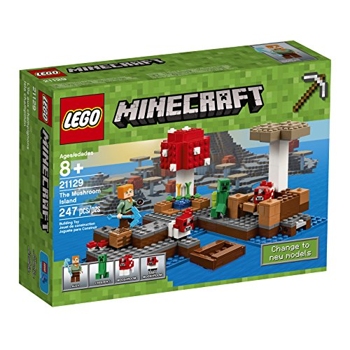 LEGO Minecraft The Mushroom Island 21129 (Jersey Ultra Game)