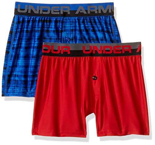 0dc4323919cd Galleon - Under Armour Boys  Original Series Boxer Shorts 2-Pack ...