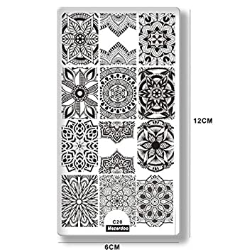 Beautiful 1pc Pretty Girl Nail Art Image Plate Cute Dog Multi Plants Fruit Designs Manicure Deco Owl Panda Patterns Stamp Template Plates Beauty & Health