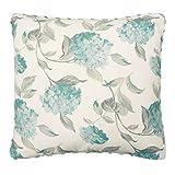 Laura Ashley Rosemary Decorative Pillow, 20 x 20, White/Blue
