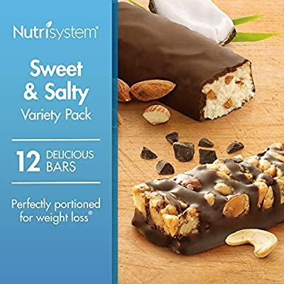 Nutrisystem® Sweet and Salty Bars Variety Pack, 12 Count Bars