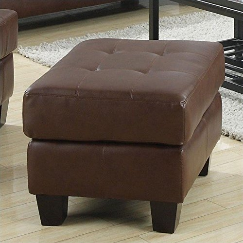 Coaster Home Furnishings Contemporary Ottoman, Dark - Outlet Gloucester