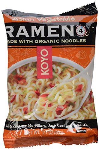 Koyo Asian Vegetable Ramen, 2.1 Oz, (Pack of 12)
