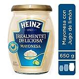 Heinz Mayonesa con Jugo de limón, 650 g
