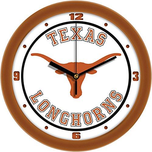 SunTime NCAA Texas Longhorns Traditional Wall Clock ()