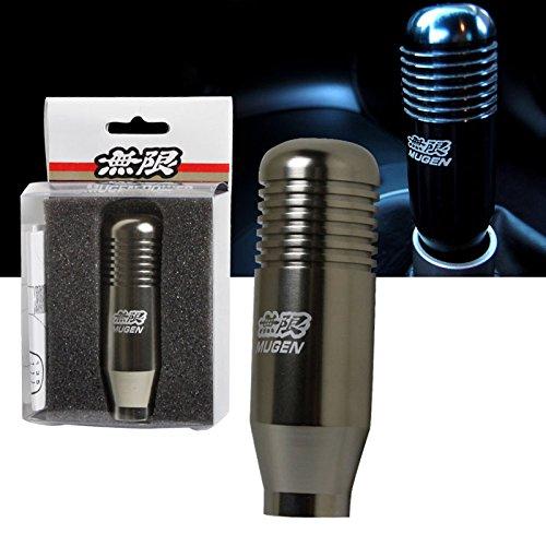 Honda / Acura 5 Speed JDM Mugen Style Aluminum Shift Knob - Gunmetal (Parts Mugen)