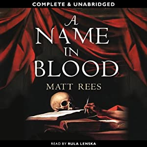 A Name in Blood Audiobook