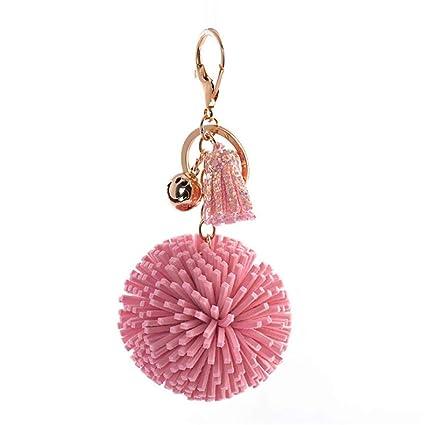 Llavero Borla simple Diseño de la bola Bolos encantos ...