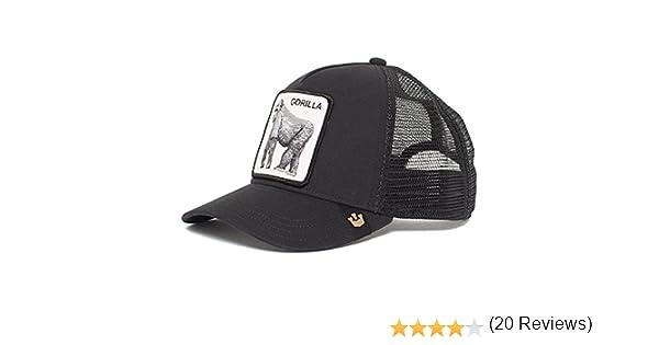 Goorin Bros. King of the Jungle Trucker cap - Grey: Amazon.es ...