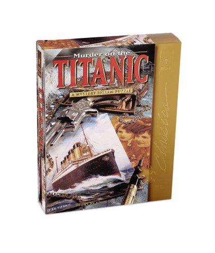 University Games Murder on the Titanic Mystery Jigsaw ()