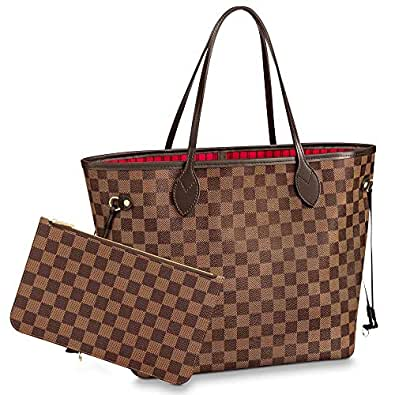 Shoulder Bags & Totes Purse with Inner Pouch,Handbags for Women brown Size: MM