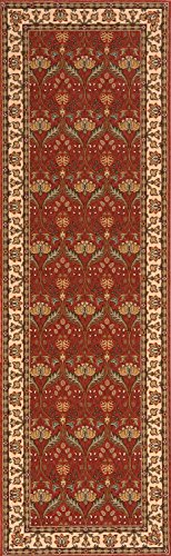 Momeni Rugs PERGAPG-12SAL2680 Persian Garden Collection, 100% New Zealand Wool Traditional Area Rug, 2'6