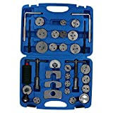 AB Tools-Toolzone 35pc Left & Right Hand Brake Calliper/Caliper Wind Back Tool Piston Kit