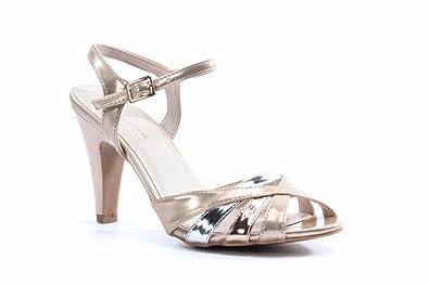 129348a8240a6d Carina Sandale  Amazon.de  Schuhe   Handtaschen