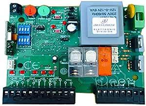 Placa Central para Puerta corredera 230 V Compatible con BFT Mizar ...