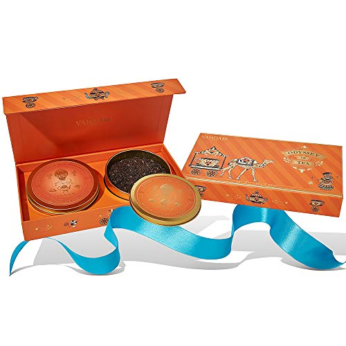 VAHDAM, Odyssey of Tea Gift Set- 2 Teas in Gift Set | OPRAH's FAVORITE TEA 2019 - Packed at Source in India | Best Holiday Gifts for Mom | Gifts for Women | Gifts for Grandma | Tea Sets (Unique Wedding Gifts For Couples In India)