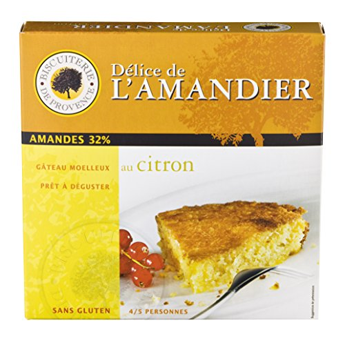 Biscuiterie de Provence Gluten-Free Flourless Almond Cake with Lemon