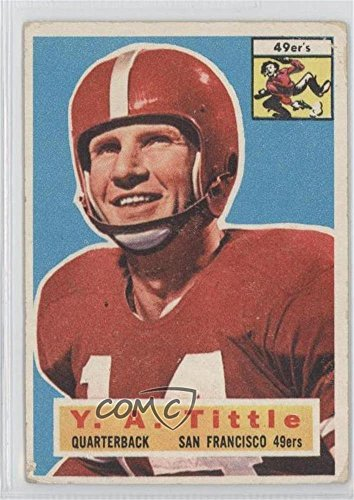 Y.A. Tittle COMC REVIEWED Good to VG-EX (Football Card) 1...