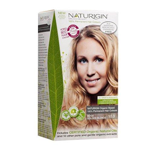 Naturigin Permanent Hair Color, Beige Golden Blonde by Naturigin