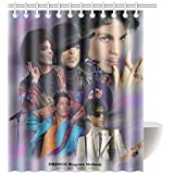 LOVELIFE Prince Rogers Nelson Waterproof Fabric Custom Shower Curtain 66
