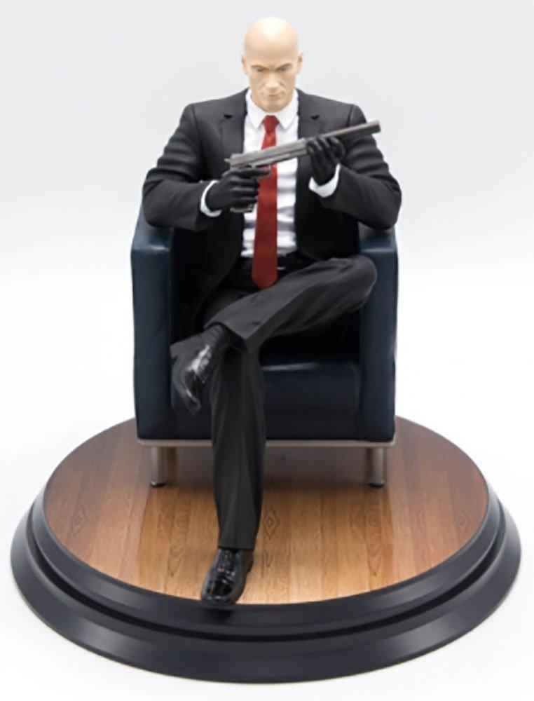 Hitman Agent 47 Chessmaster Figure Statue SquareEnix