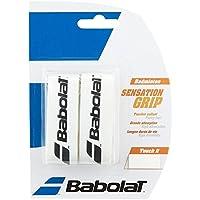 Babolat Badminton Base Poignée Bande Sensation Lot de 2dans différents Belles Couleurs, Weiß