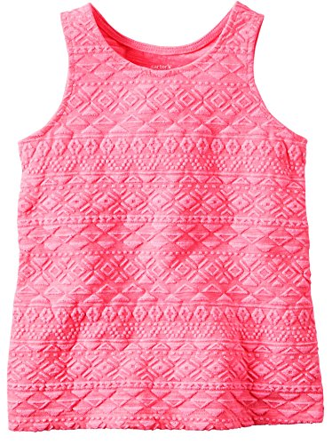 Carter's Girl Jacquard Tank Top; Pink (18M) ()