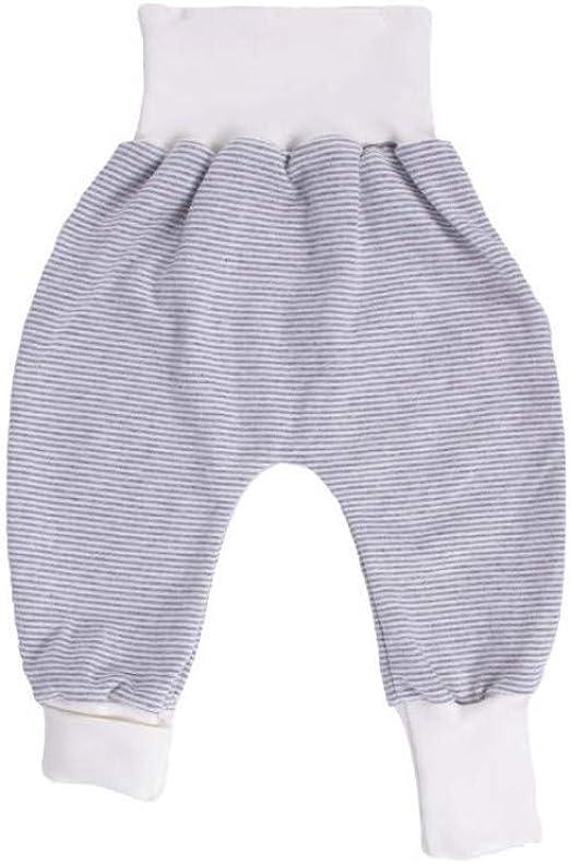 iobio Baby Crawler Hose Nicky 100/% Baumwolle Grau, 50//56
