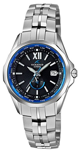 CASIO watch OCEANUS Manta Ladies world six stations corresponding Solar radio OCW-S340-1AJF Ladies