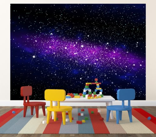 Free shipping galaxy in the universe photo wallpaper for Decoration xxl
