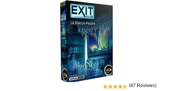 Iello – Exit: La estación polar, 51491 edición francesa: Amazon.es: Juguetes y juegos