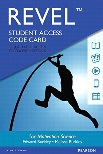 Revel for Motivation Science -- Access Card