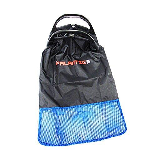(Scuba Choice Palantic Black Lobster Fish Catch Gear Nylon Game Bag Net with Plastic)