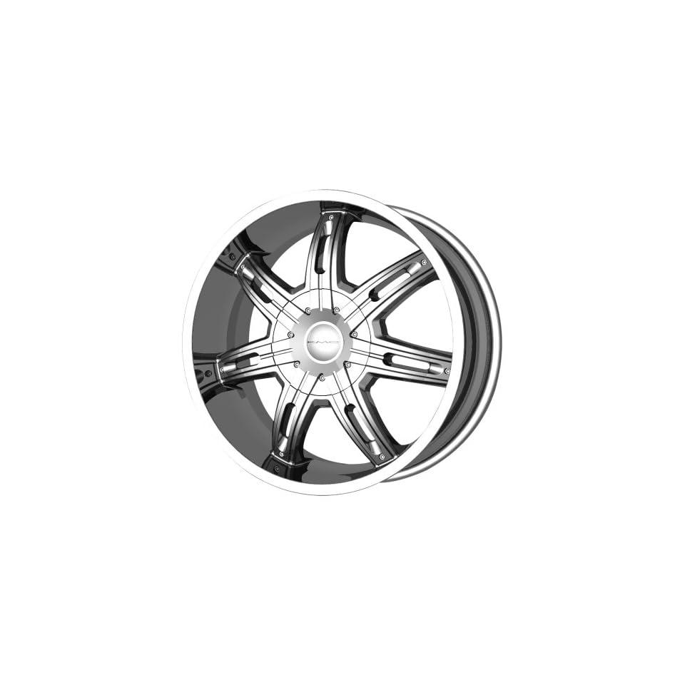 KMC Wheels Surge KM6652 Chrome Finish Wheel (20x9/5x139.7mm)