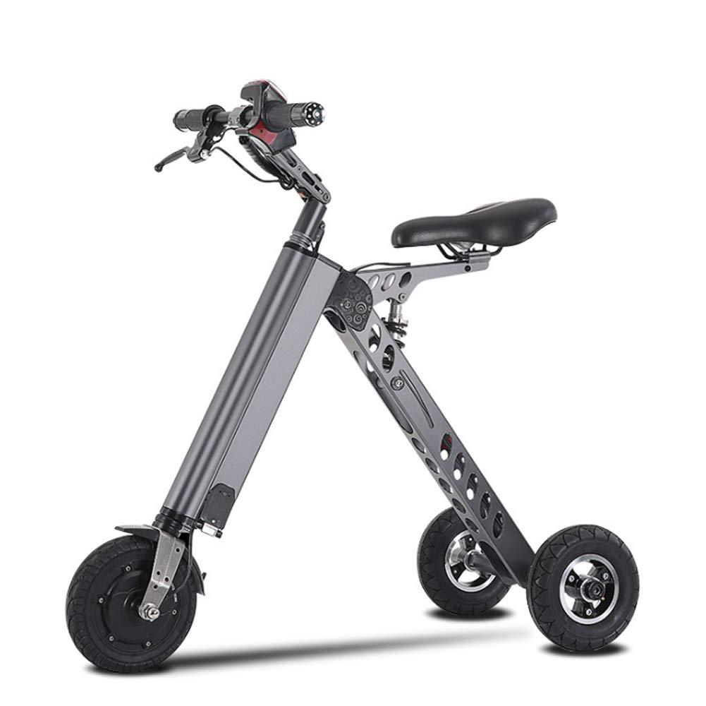 ... de 3 Ruedas 36V 250W, Bicicleta eléctrica de Litio eléctrica de Tres Ruedas con Litio, Carro de Equilibrio Inteligente Plegable K para niños y Adultos: ...