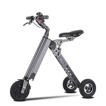L&U Mini Scooter eléctrico Plegable de 3 Ruedas 36V 250W ...