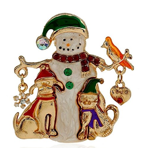 FTH Gorgeous Snowman & Friends 2