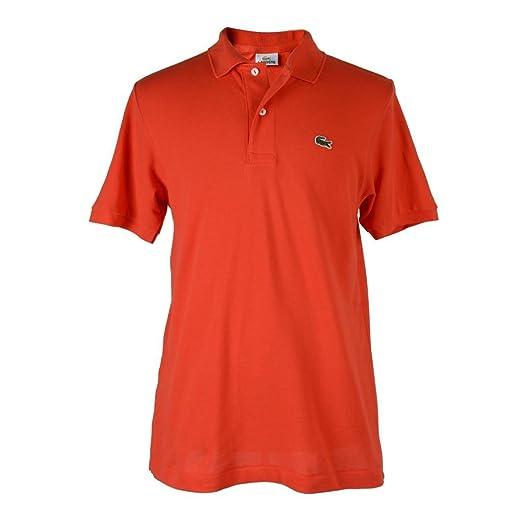 Sleeve 5 At Short Lacoste Size Polo Bright M Us Men's Shirt Orange OiZkXuPwT