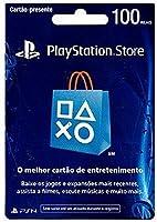 Cartão Psn Br 100 Reais - Cartão Presente R$ 100 Psn Store