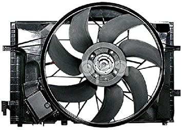 Replacement For Mercedes C Class W203 01-07 Clk 320 03-05 Ac Radiator Fan  Assembly 2035000293