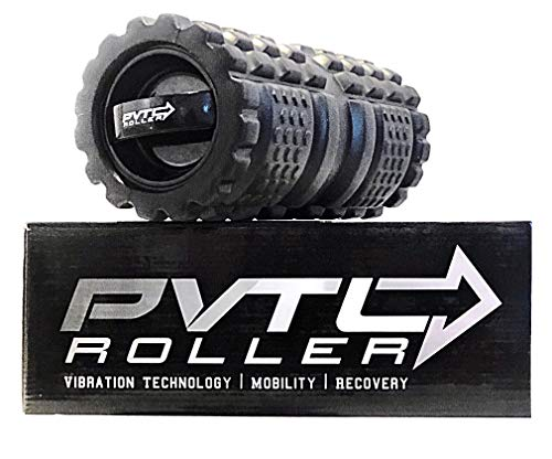 PVTL Roller   3-Speed Vibrating Foam Roller   100% Risk Free Guarantee   Recovery Roller   Mobility Roller   Deep Tissue   Vibrating Roller   Vibration Foam Roller   Electric Foam Roller
