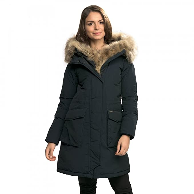 Woolrich - Chaqueta - para Mujer Azul Medianoche Small ...