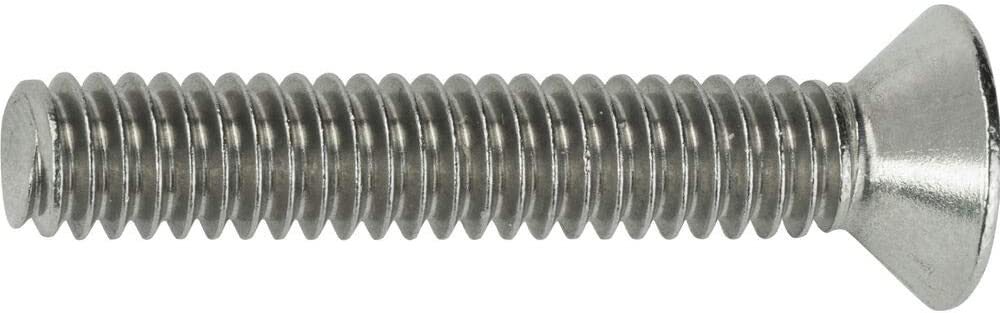 Machine Screws Stainless Steel Flat Head 18-8 Qty 500 3-48 x 3//8