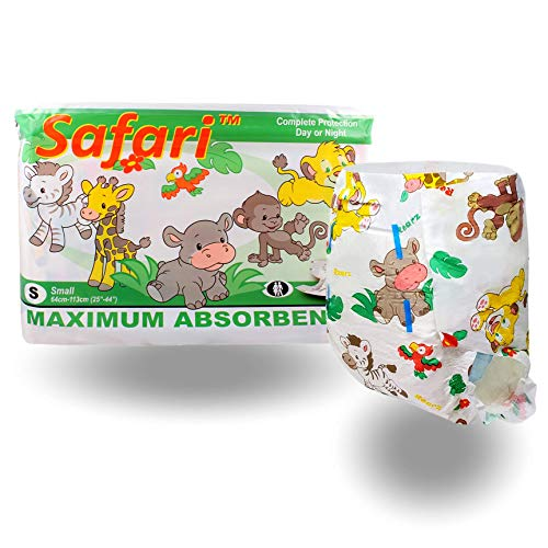 Rearz - Safari - Adult Diaper (12 Pack) (Medium) for sale  Delivered anywhere in USA