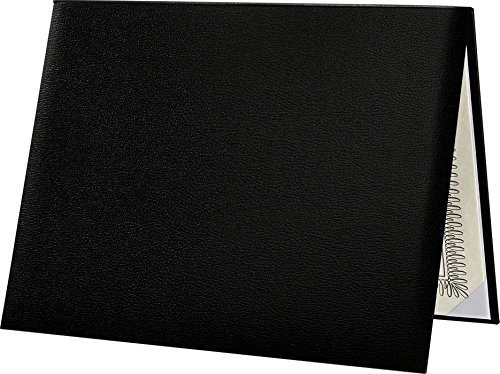 Padded Diploma Cover - Classic Black (1 Qty.) | The ONLY Professional, Classic way to present your diplomas | PDCL-85X11-DB-1