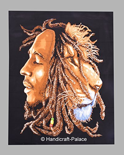 Bob Marley Poster Flag (Bob Marley One Love Tapestry Wall Hanging Throw Poster Flag Cotton Textile Art)