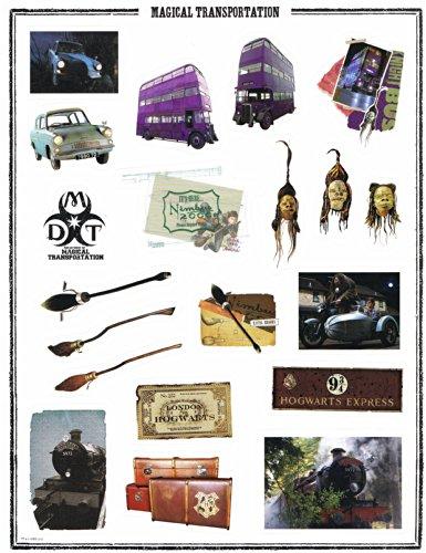 Harry Potter Full Sheet Stickers  Magical Transportation