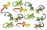 Curious Minds Busy Bags 12 Mini Stretchy Lizards - Small Novelty Toy Party Favors
