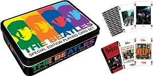 Beatles Colors Playing Card Tin Set