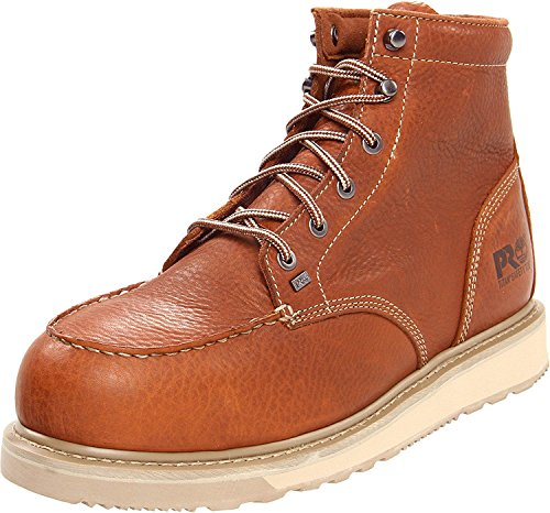 Timberland PRO Mens Barstow Wedge Alloy ST Work Boot, Brown, 42 D(M) EU/8 D(M) UK